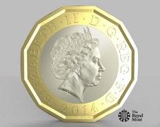 Британцы оценили «самую безопасную  в мире» 1-фунтовую монету
