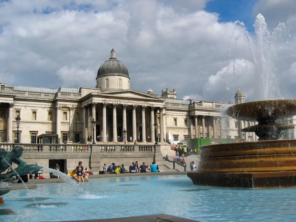 Национальная галерея. Самые популярные достопримечательности Великобритании