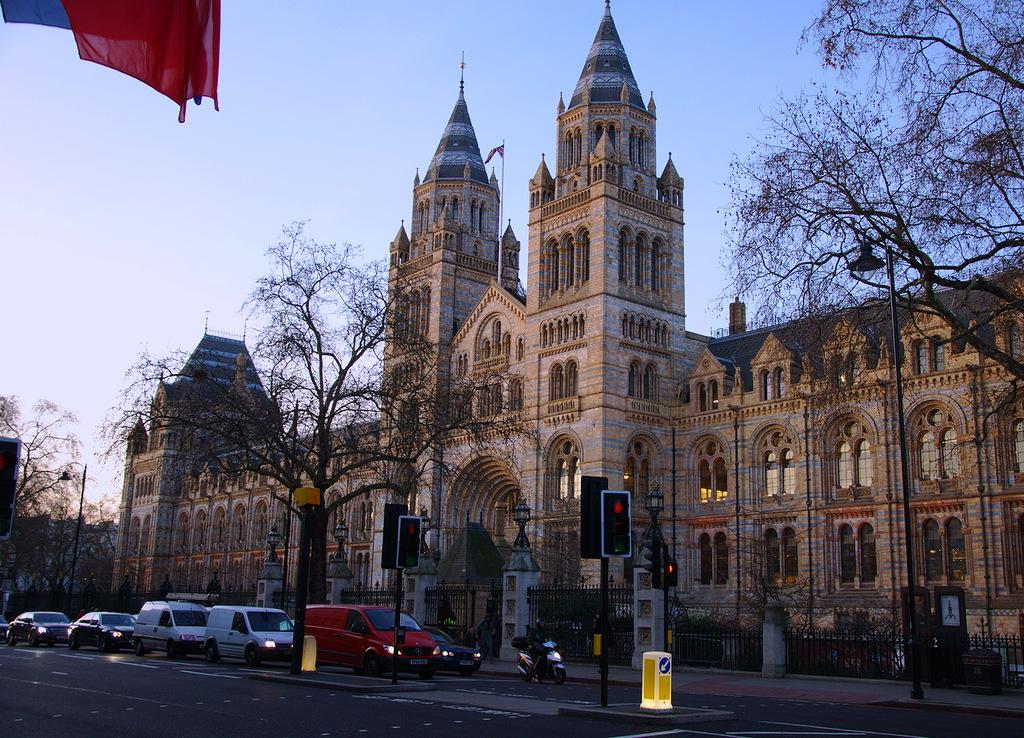 Музей естественной истории. Самые популярные достопримечательности Великобритании