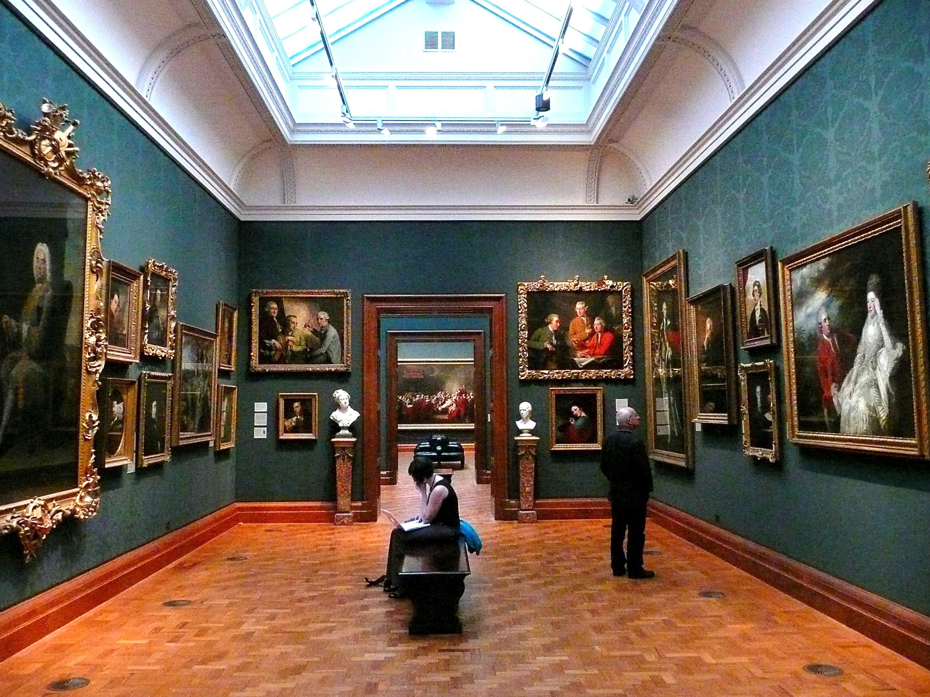 Национальная портретная галерея. Самые популярные достопримечательности Великобритании