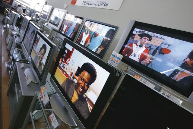 Российский рынок аудио и видеотехники терпит поражение
