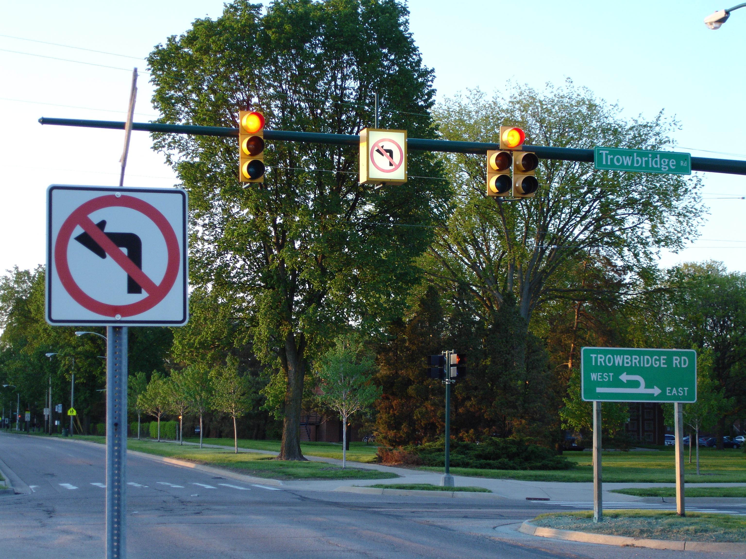 Британцы провалили экзамен на знание дорожных знаков